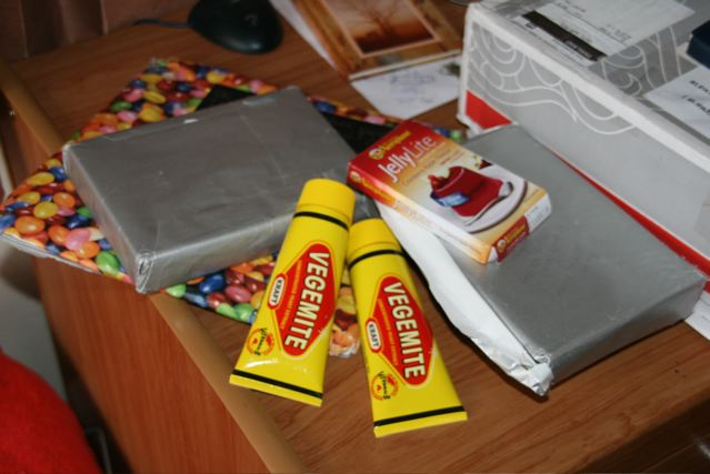 vegemite food package