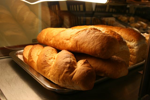 bread at Peppers bakery and cafe