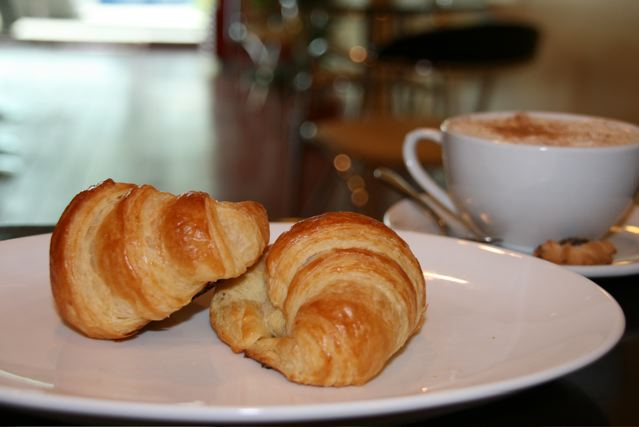 croissants at Peppers Bakery and Cafe
