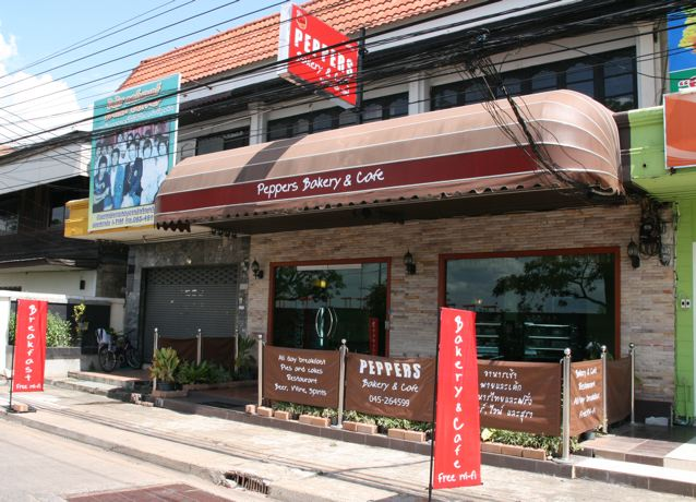 Peppers Bakery and Cafe, Ubon