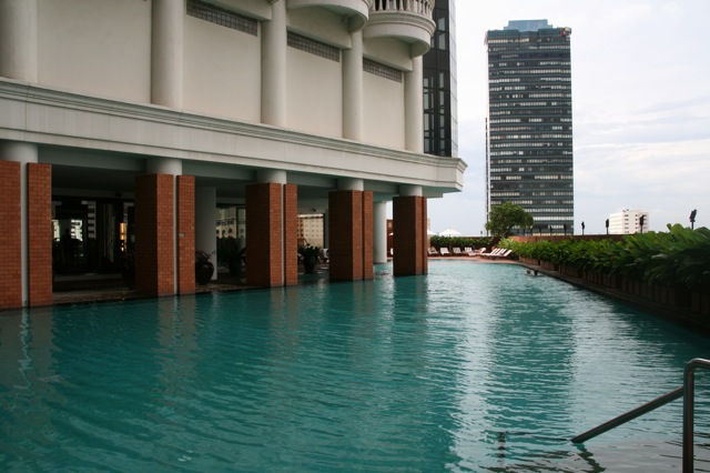Lebua Hotel swimming pool