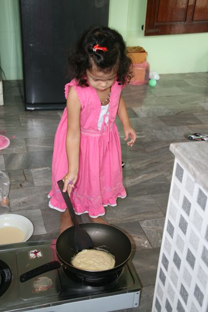 pancakes in ubon