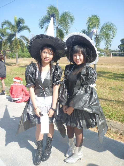 Two pretty witches.
