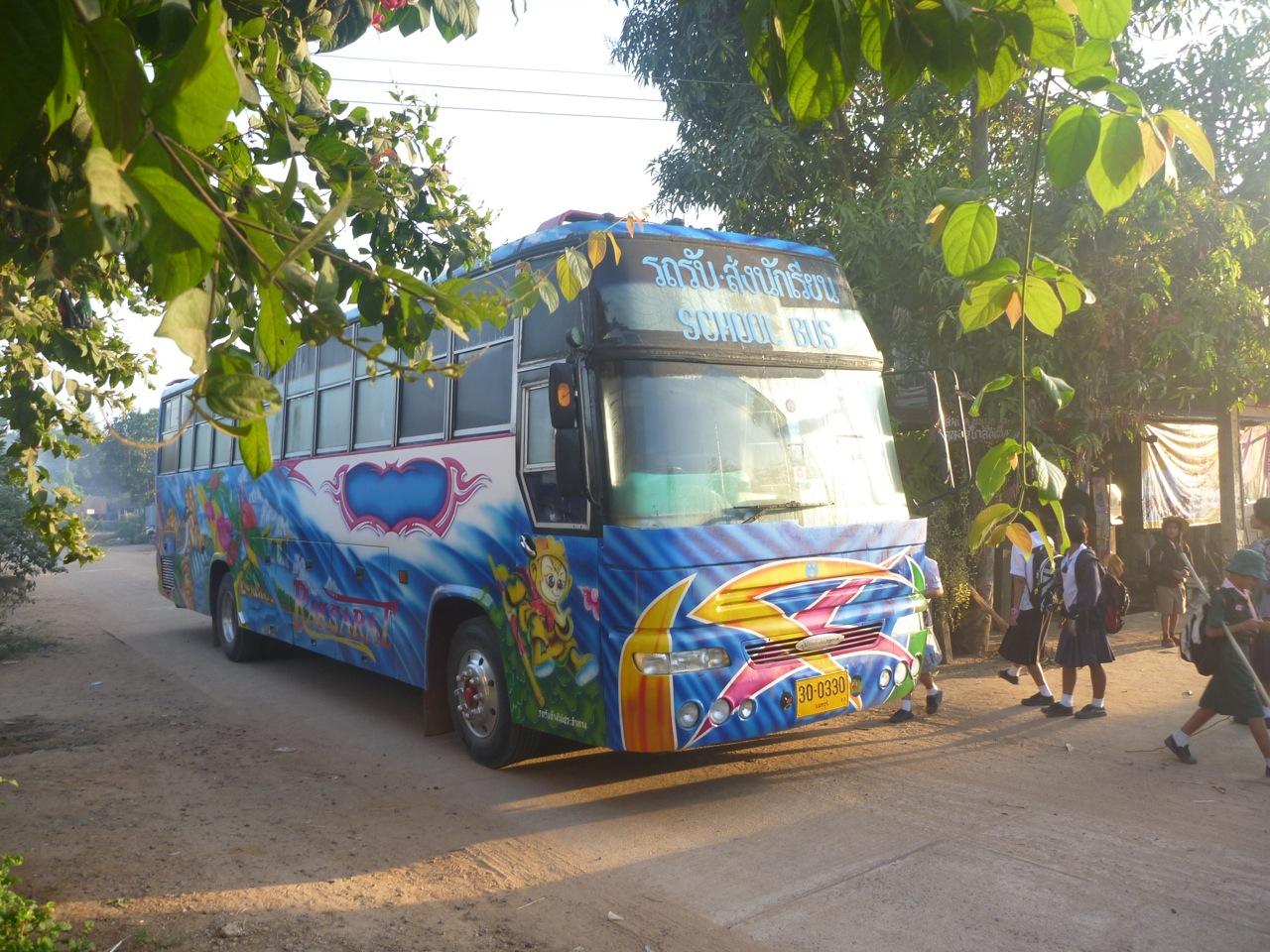 Thailand Boom Bus