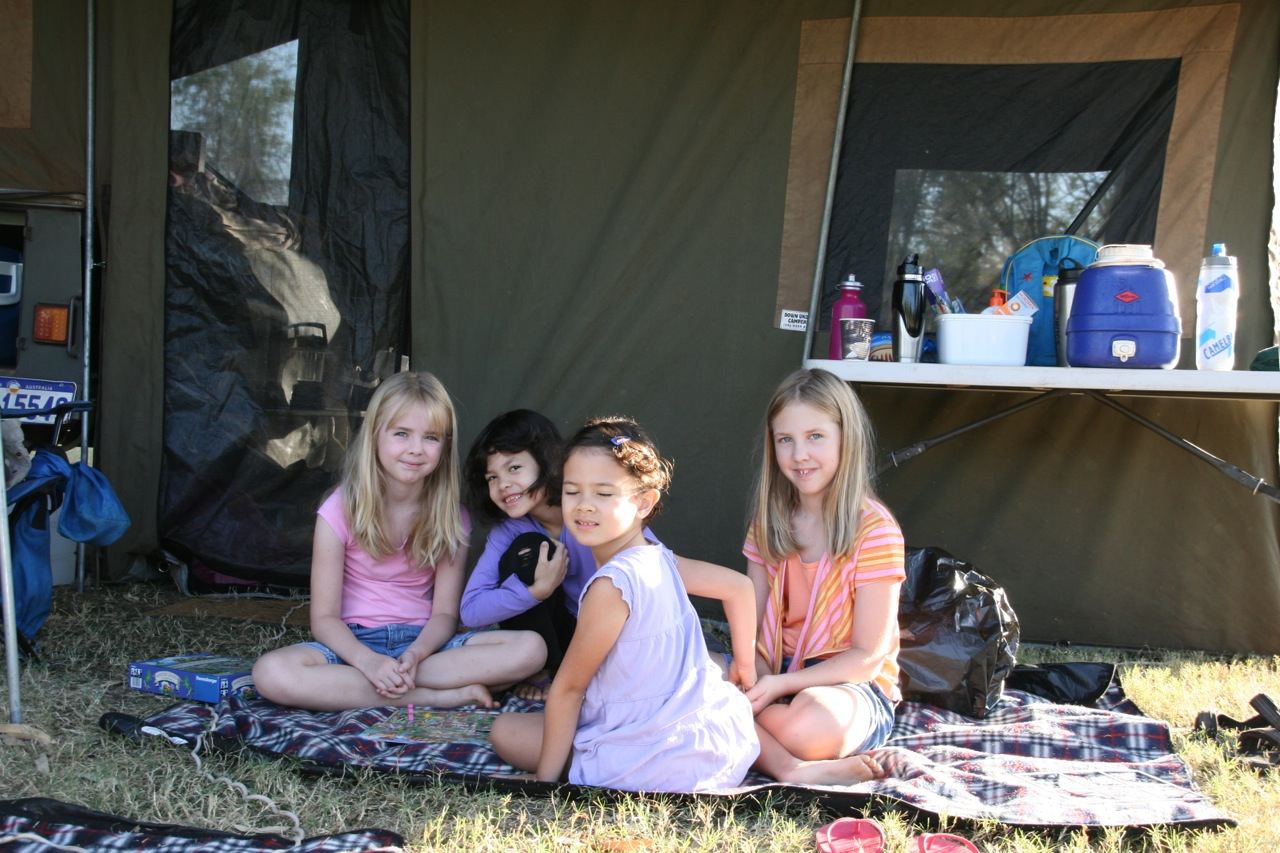 The girls (and Mum) went camping for a few days with friends leaving the blokes (Jacob and I at home). It was a great weekend for all of us!