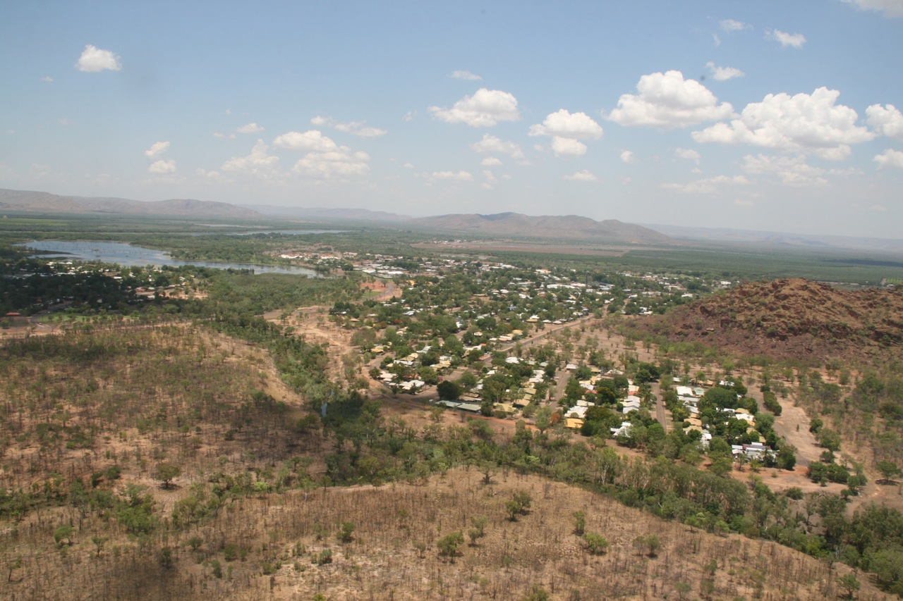The township of Kununurra.