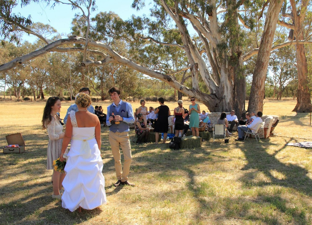 Vintage wedding country Australia