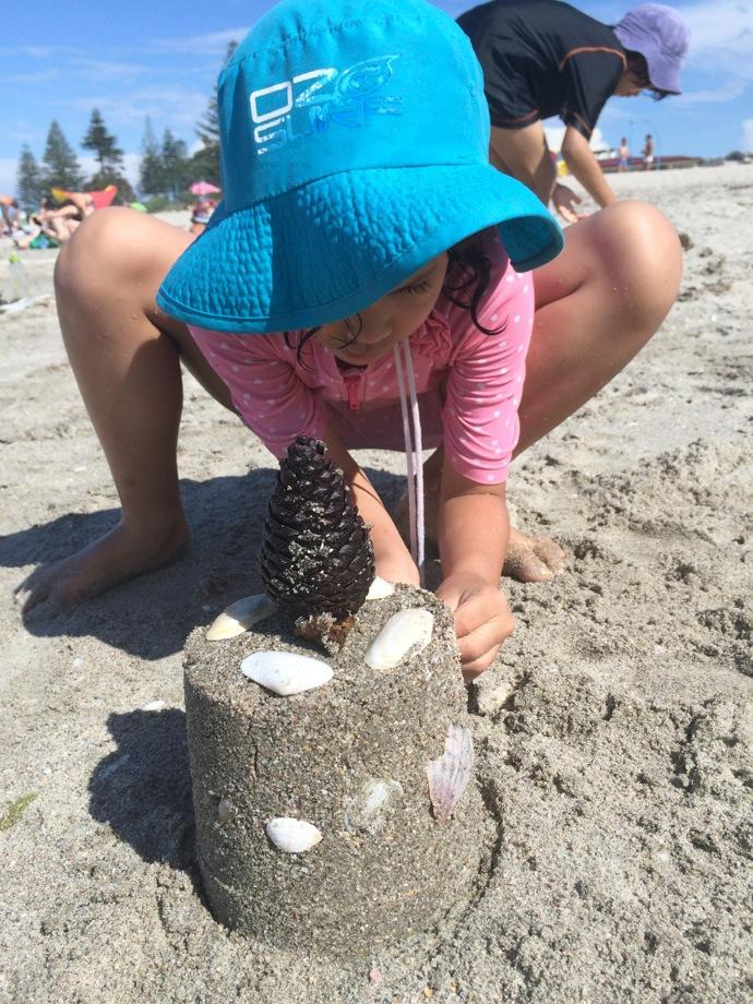 Beach at Tauranga
