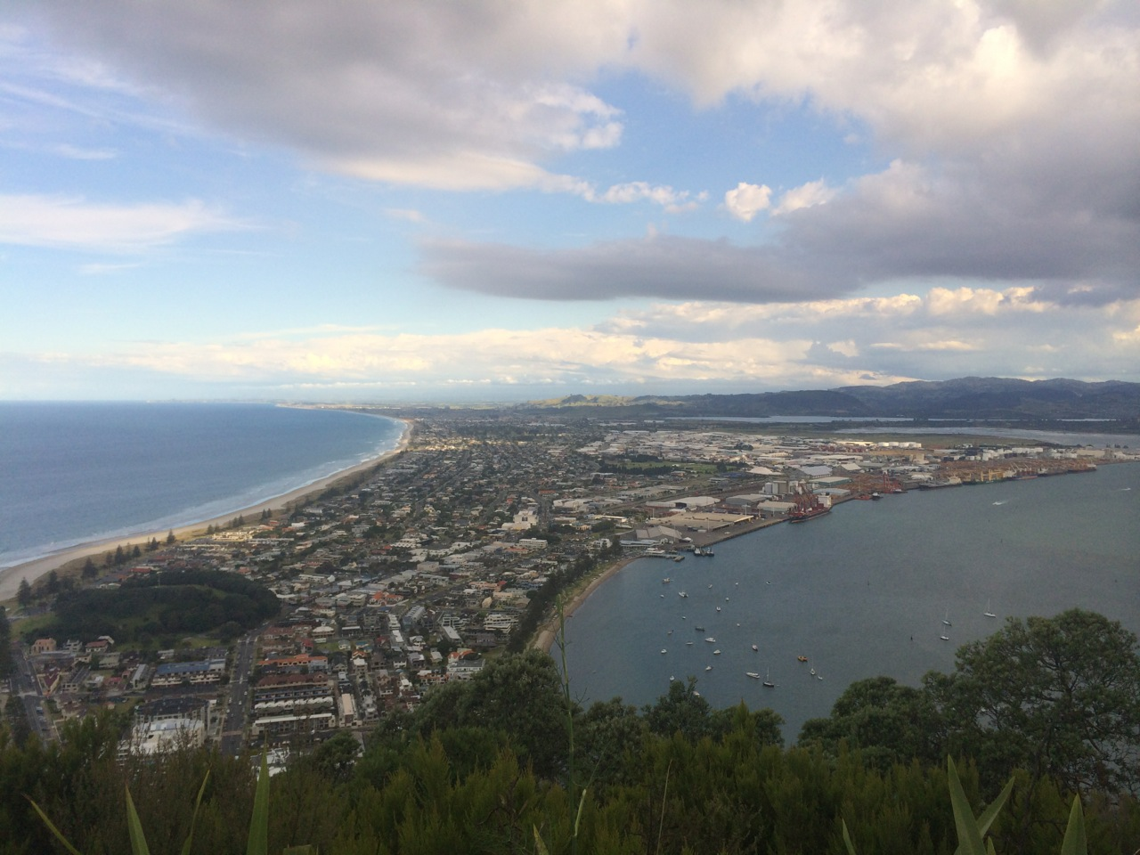 One of the highlights for me was doing an afternoon run through the town of Mount Maunganui as well as running around the actual Mount. I then met up with my Mum and we climbed to the top. The views from every single angle are breath taking. I had also done an 8km run that morning so by the evening I was pretty stuffed!