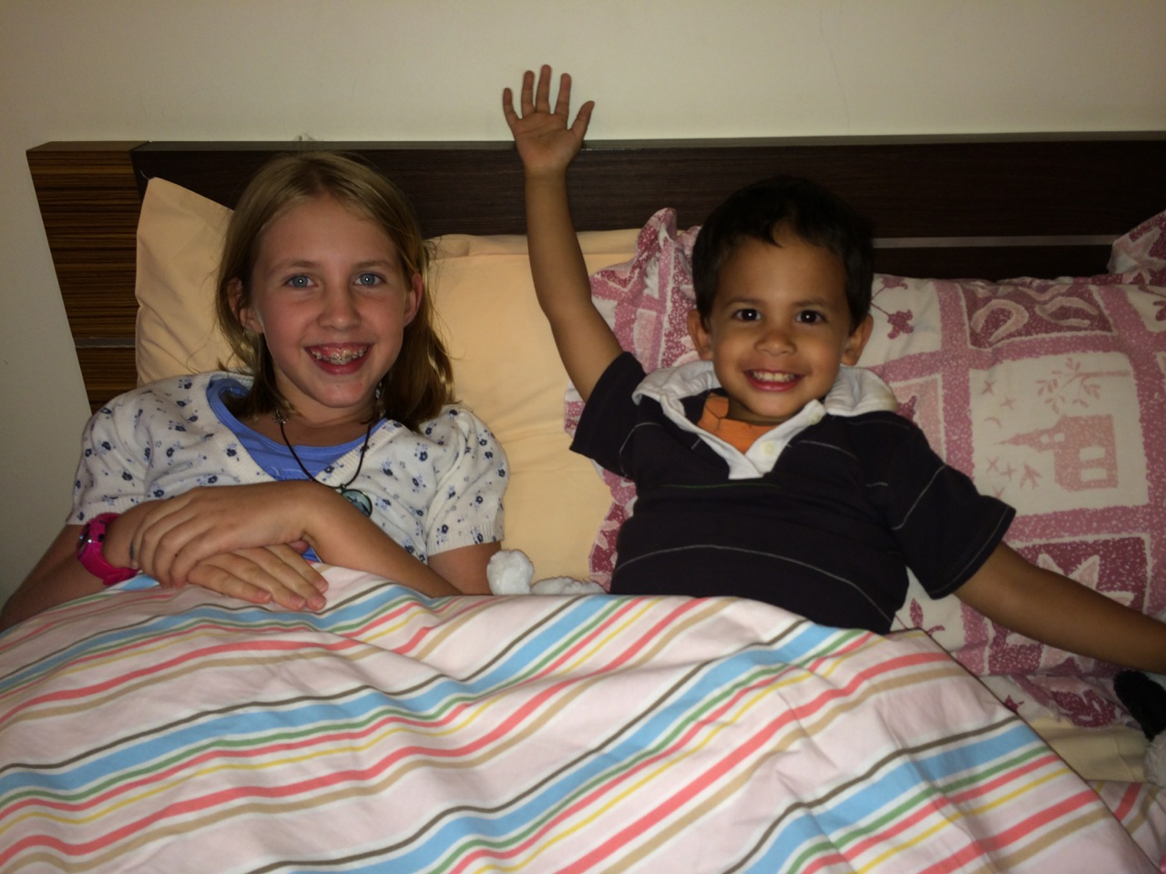 Jacob pretending he was going to sleep with his cousin Rebekah.